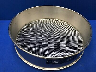 Humboldt No. 14 Usa Standard Testing Sieve Stainless Steel 12dia X 3-14deep