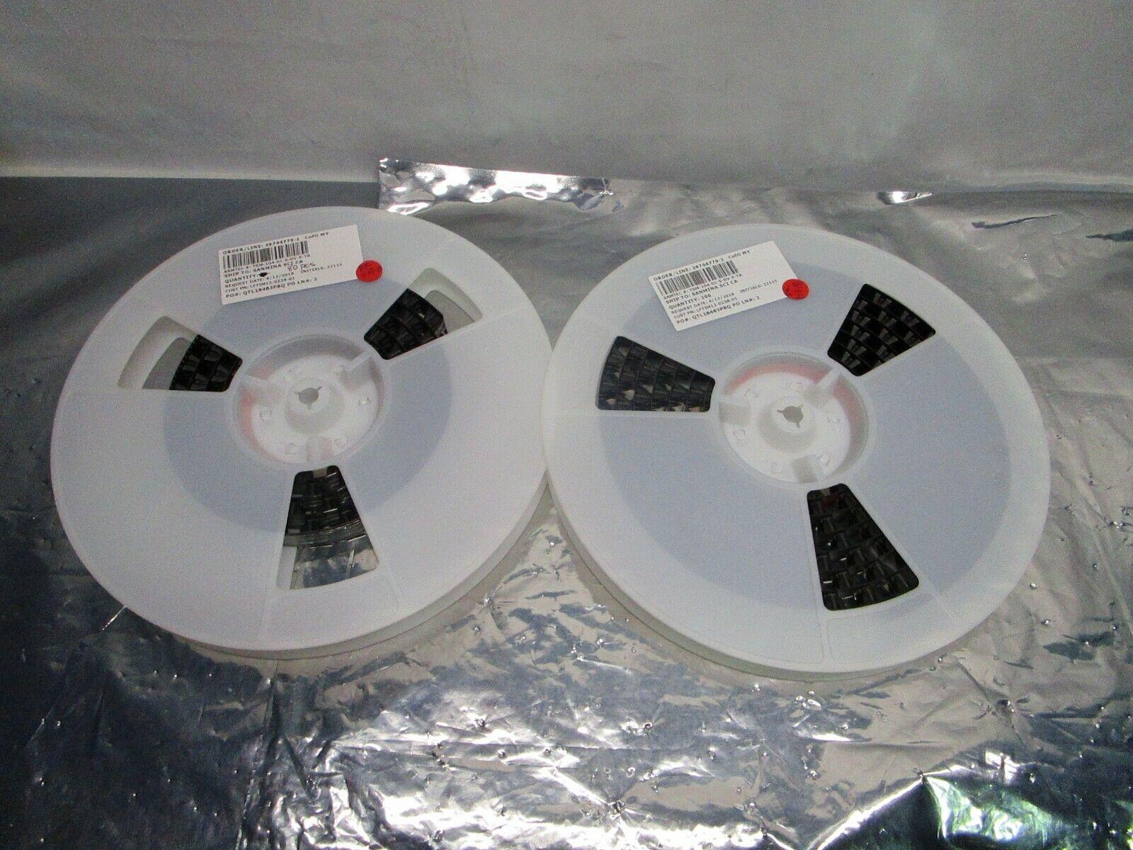 1 Lot of 280 Samtec TSM-104-01-S-DV-P-TR Conn Unshrouded Header HDR, 102711
