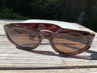 Vintage Genuine Versace Medusa Tortoise Shell Sunglasses..