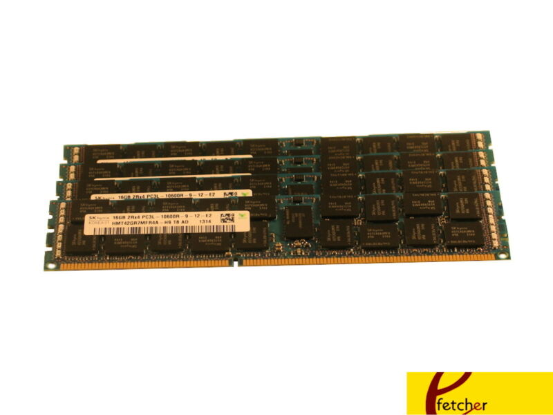 64GB 4x16GB Memory ECC REG PC3-12800 Dell PowerEdge R410 NEW NOT FOR PC//MAC