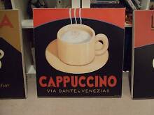 COFFEE SHOP CANVAS PICTURES ITALY ITALIAN Wahroonga Ku-ring-gai Area Preview