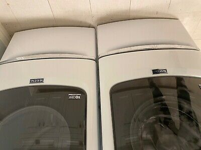 Maytag 15.5 in. White Pedestal for Front Load Washer and Dryer with Storage . B6