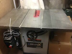 Delta X5 unisaw /dust collector/craftsman arm saw/ planer