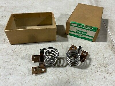 Lot Of Two Monitor Products Size 10 Heater Elements Magnetic 160-31-11.0a Nos