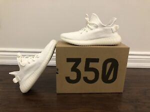 Adidas Yeezy Boost 350 V2 Triple White Deadstock