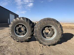 8-Good year 800/70R38 tires