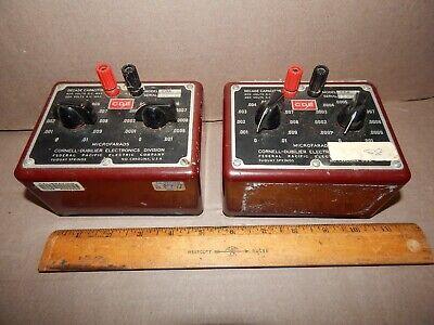Cde Cornell-dubilier Electronics Cda 2 Decade Capacitor Cda2