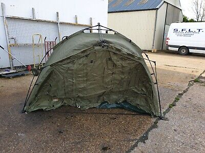 TF GEAR 2 MAN BIVVY WITH GROUND SHEET, GREAT CONDITION, GREEN