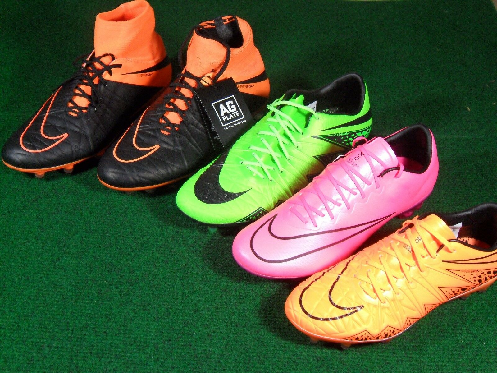 Nike Hypervenom Phinish Mercurial Vapor X XI Phantom Phatal FG AG Soccer Cleats