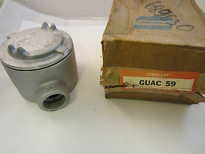Crouse Hinds Guac59 Explosion Proof Junction Box C Style 1 12 New