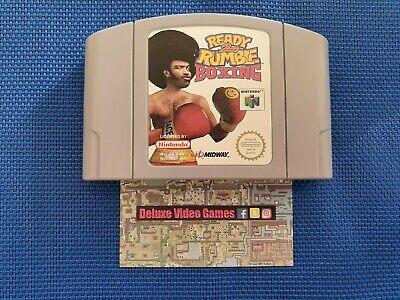 NINTENDO 64 N64 : Ready 2 Rumble Boxing