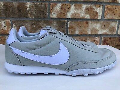 3ea67014725 Men s Nike Waffle Racer  17 TXT Running Shoes Pale Grey Pure Platinum 898041 -001