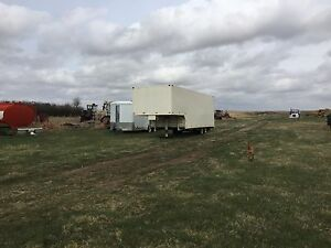 32ft enclosed trailer