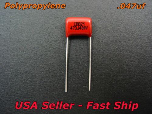 .047uf 400v Guitar CBB Polypropylene Tone Capacitor 473 47nf 2A473J Cap