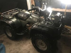 C&C cycles sell or part out 1997 Honda 400 foot shift 4x4