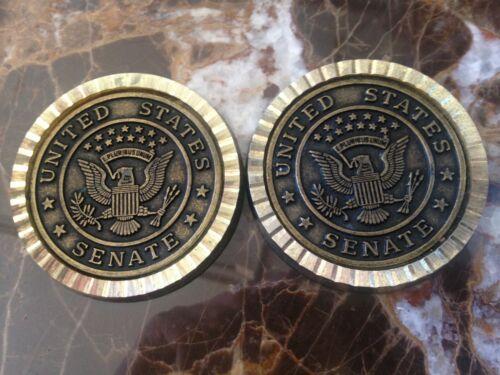 2 United States Senate Coasters (Authentic)