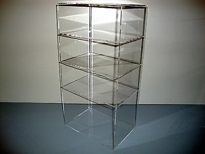 Acrylic Lucite Countertop Display Case ShowCase Box Cabinet 9 1/2