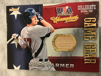 2013 USA Baseball Champions Game Gear Bats Kyle Farmer #4