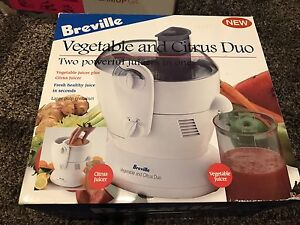 Breville vegetable and citrus duo Reservoir Darebin Area Preview