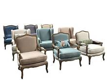 Vintage Arm chairs, tub/ dining chairs, Decor french provincial! Sefton Bankstown Area Preview