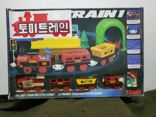 RARE Vintage TOMYTRAIN 1 Tomy Train Figure Doll Model Toy Japan