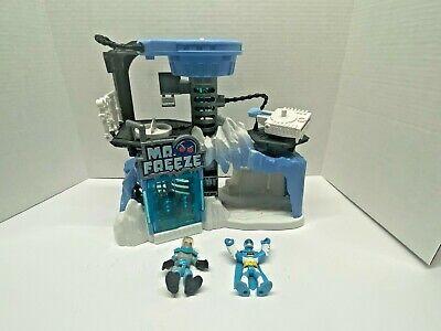 Imaginext DC Super Friends Mr. Freeze Headquarters, Artic Lair with figures