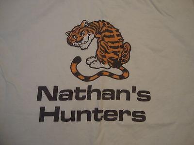 Nathan's Hunters Tiger White Nathan party birthday gift punk rock T Shirt - Punk Rock Birthday