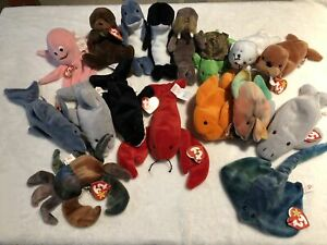 07c9e9502a1 Ty Beanie Babies - sea creatures collection