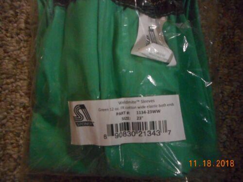 "Steiner Weldmite 23"" welding sleeves 1134-23WW.    Listing is for 2 pair"