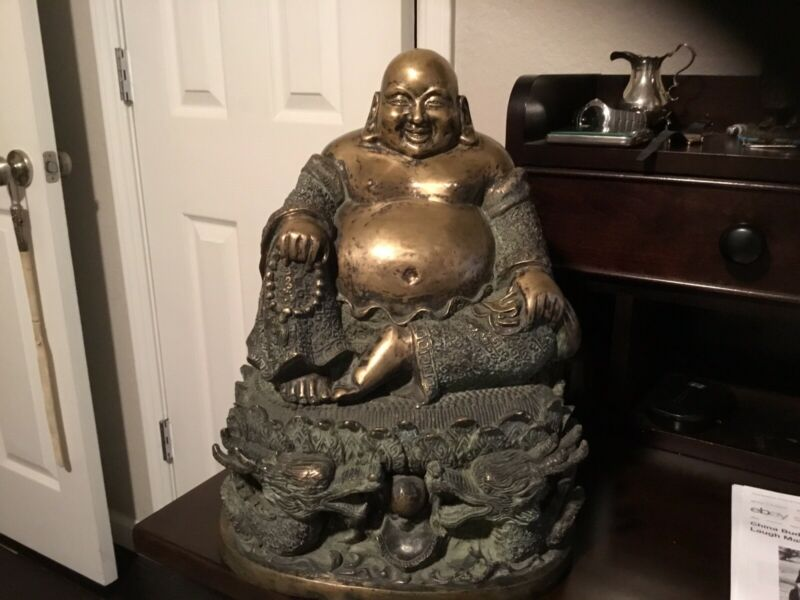 VERY RARE  ASIAN BRONZE BUDDA 1800