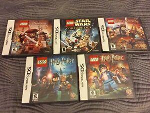 Nintendo DS Lego Games