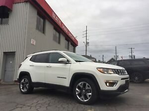 2018 Jeep Compass Limited LEATHER/ NAVIGATION/ COLD WEATHER GROU