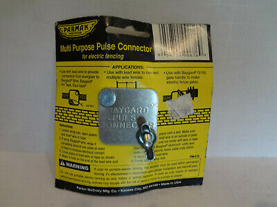Parmak Precision Multi Purpose Pulse Connector For Electric Fencing Pm-676