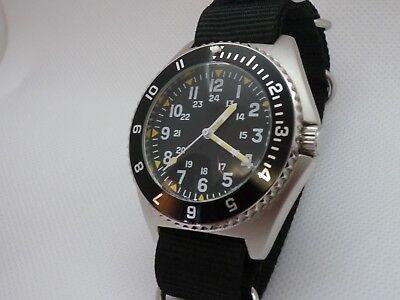 Time Arrow Watch Co  Military Benrus Type Ii  Submariner Homage  Miyota Movement