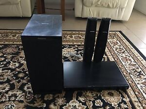 Panasonic blue Ray DVD player and subwoofer and two speakers Encounter Bay Victor Harbor Area Preview