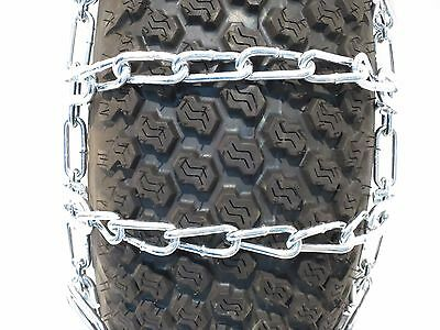 New Pair 2 Link Tire Chains 23x10 50 12 For John Deere