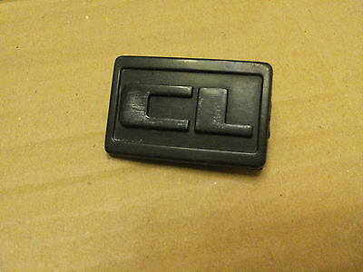 VW GOLF JETTA MK2 16V CL FRONT WING INDICATOR BLANK BADGE 191853688A