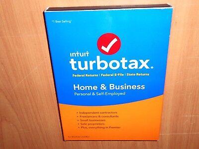 LOOK: A *Genuine CD* 2016 INTUIT TURBOTAX HOME & BUSINESS FEDERAL Plus STATE CD](turbotax home&business 2016)