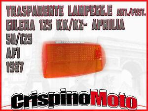 LENTE-LAMPEGG-E-ANT-POST-GILERA-125-KZ-KK-APRILIA-50-125-AF1-1987