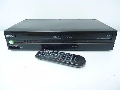 Toshiba SD-V296-K-TU DVD & VCR Hi-Fi Combo Player Recorder W/ REMOTE CONTROL
