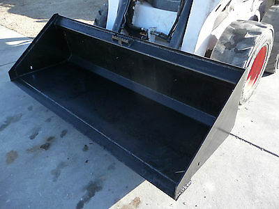 Bobcat Skid Steer Attachment 80 Low Profile Smooth Bucket - Shipping Cost 199