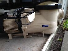 Hurlcon Pool Pump 1.5 horse reconditioned $650.00 Brookwater Ipswich City Preview