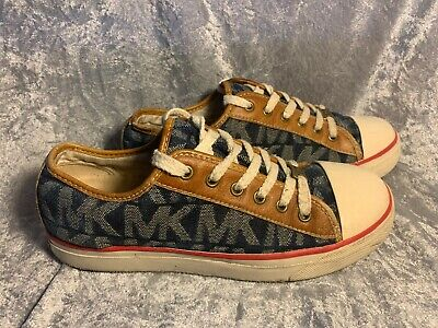 Michael Kors Shoes Used MK Logo Sneakers Size 7.5