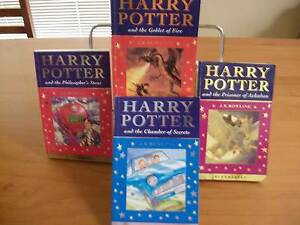 Harry Potter  Books 1-4 Rhynie Clare Area Preview