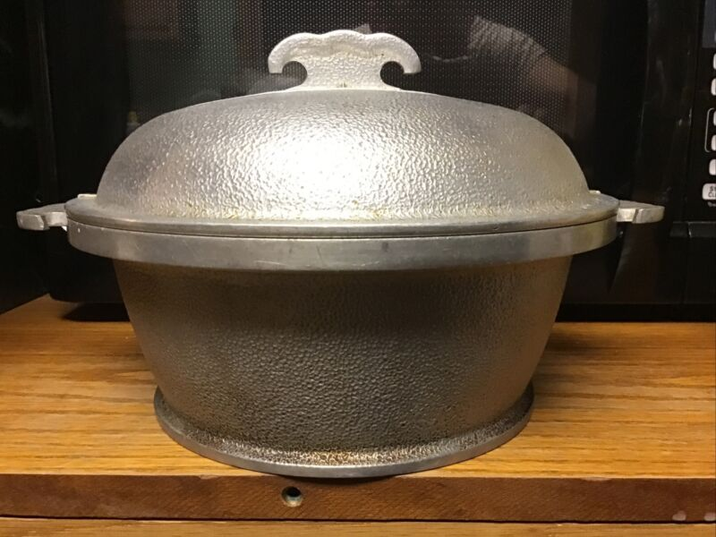 Vintage Guardian Service Pre-WWII 2 Quart Cooker with Lid
