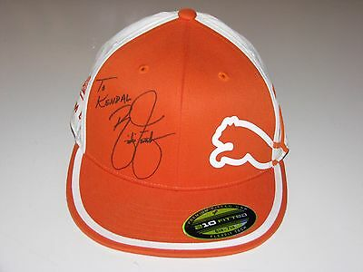 b22a8185824 Rickie Fowler Autographed Puma Golf Hat