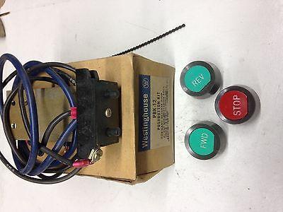 Pbk12 Westinghouse Pushbutton Kit Forward Reverse Stop Nib