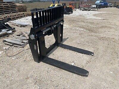 Manitou Telehandler Forklift Forks Tff New