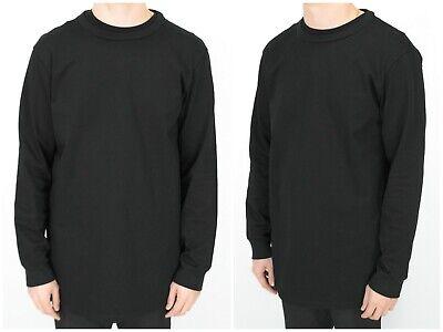 Mens Kazuyuki Kumagai Attachment Japan Designer Sweatshirt Black Size 3 / L