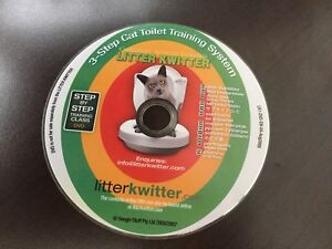 Cat Toilet Training System and Step By Step Training DVD